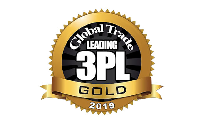 Global Trade Leading 3PL Gold 2019