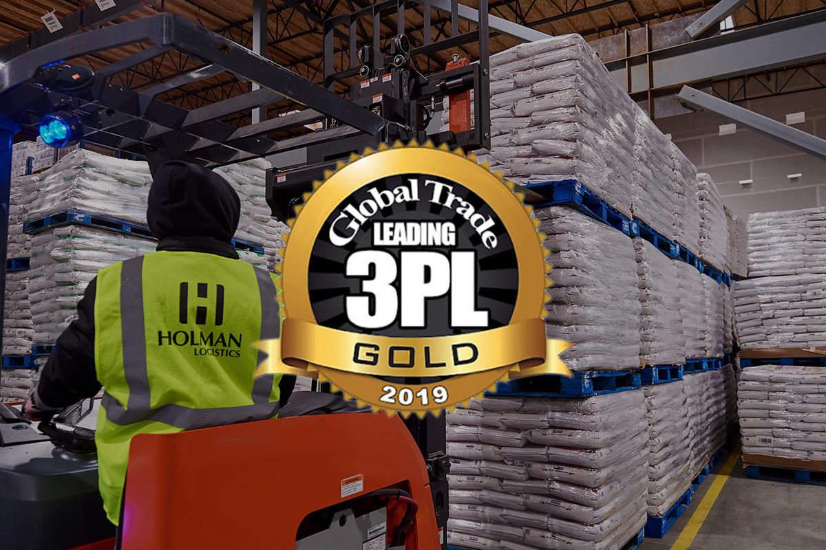 Holman Named One of America's Top 50 Leading 3PL Companies by Global Trade Magazine