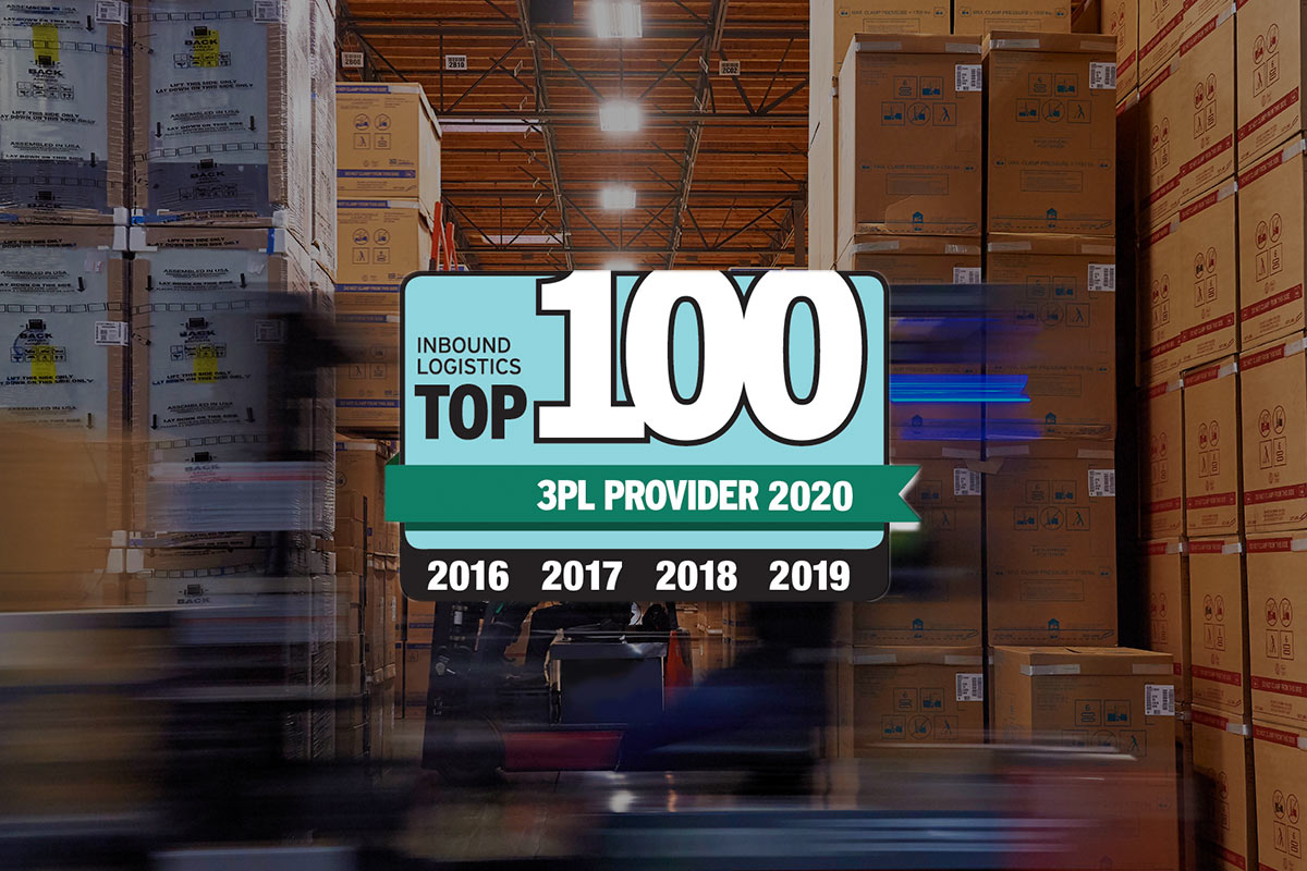 Top 100 3PL providers