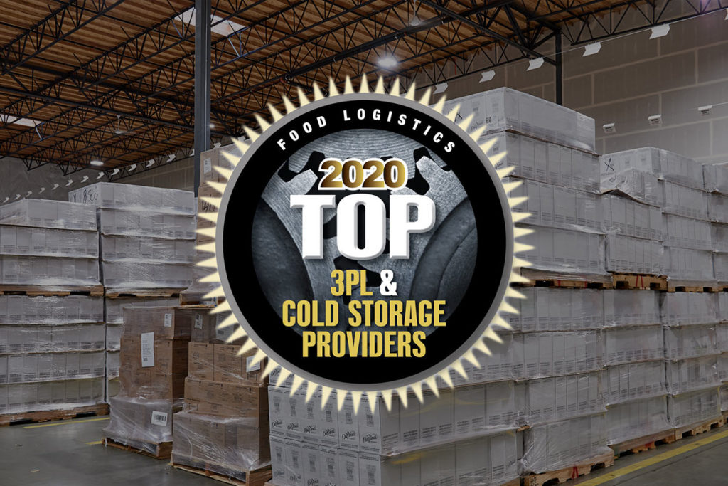 HOLMAN LOGISTICS NAMED TO FOOD LOGISTICS' TOP 3PL & COLD STORAGE PROVIDERS OF 2020 LIST