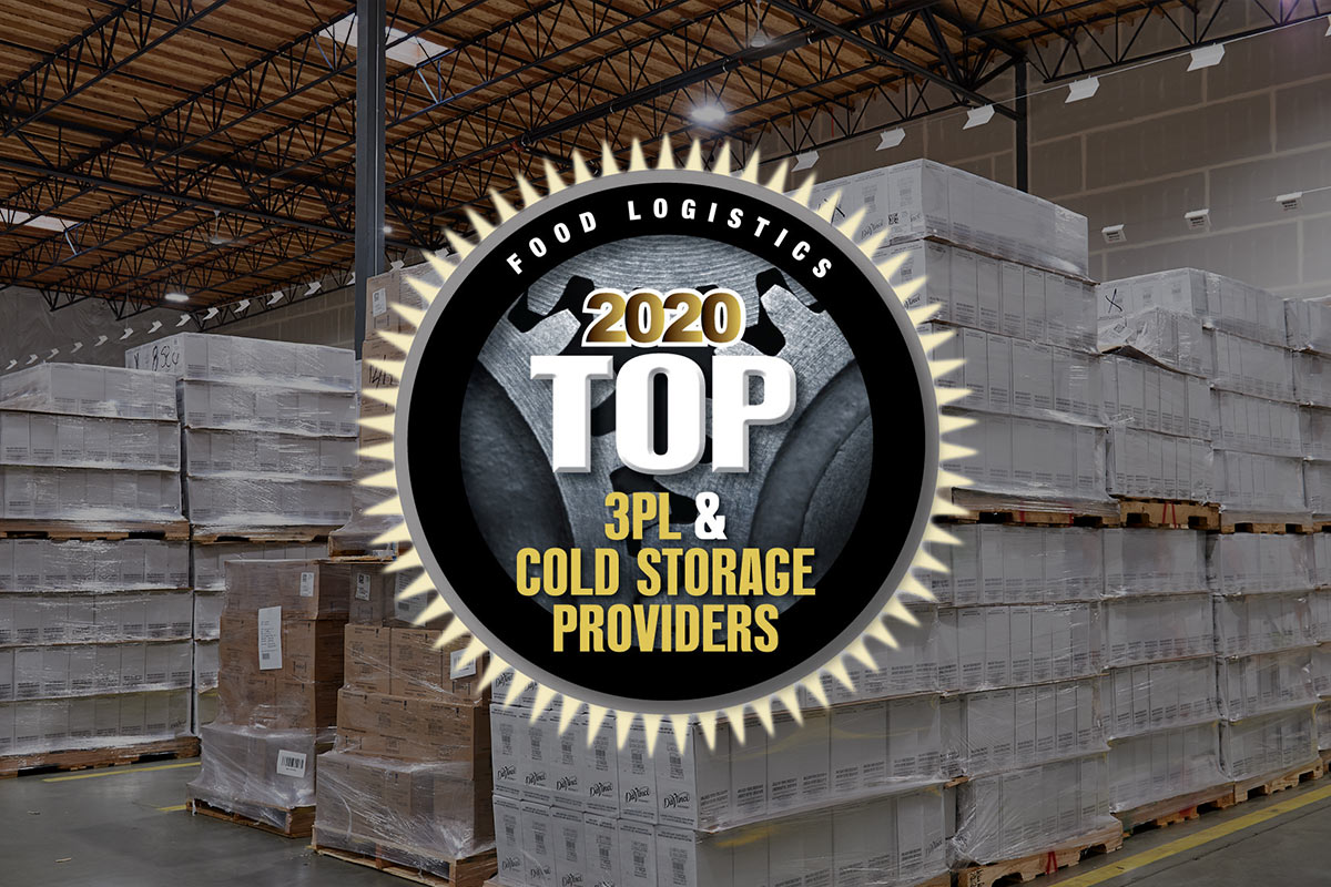 HOLMAN LOGISTICS NAMED TO FOOD LOGISTICS' TOP 3PL & COLD STORAGE PROVIDERS OF 2020 LIST